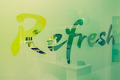 Refresh lounge Logo