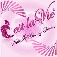 C'est La Vie Nails & Beauty Salon Logo