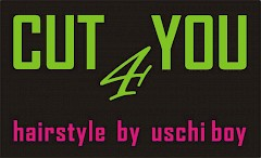 friseurstudio uschi boy, Cut 4 You Logo