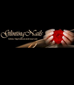 Glinting Nails Logo